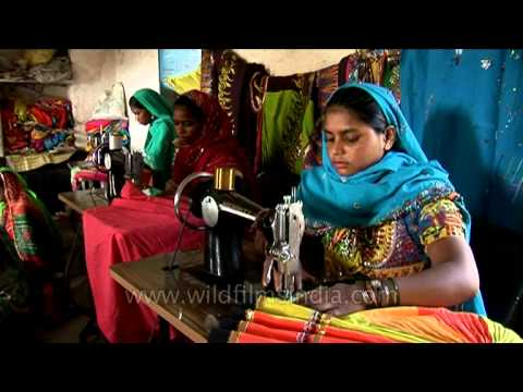 Xxx Mp4 Women Tailors Of Rajasthan Sewing Colourful Ethnic Clothes 3gp Sex