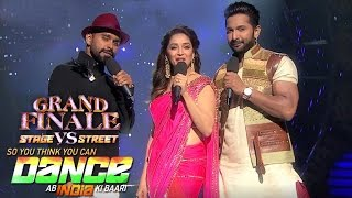 So You Think You Can Dance - Grand Finale 2016 | And Tv So You Think You Can Dance India Finale