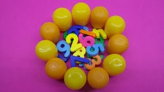 Learn To Count 0 to 10 with Egg Numbers! Lessons for Children