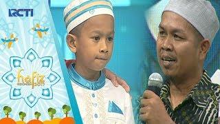 HAFIZ INDONESIA - Terharunya Enri Mengajarkan Papahnya Belajar Al Quran [9 Juni 2017]