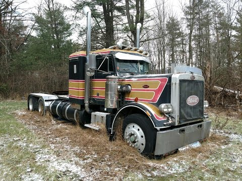 Rescuing a 1977 Peterbilt 359 From Its Grave First Time On the Road in 18 Years