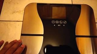 Smart Weigh Body Fat Digital Precision Scale SBS500 Unboxing Review