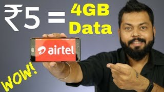 AIRTEL NEW PLANS to counter JIO - ALL DETAILS