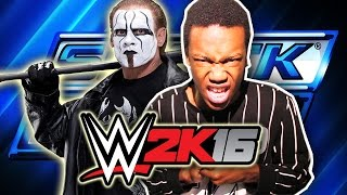 STING Returns to Fight Will Power! (WWE 2K16 MyCareer Part 39)