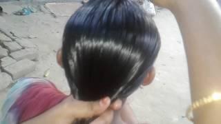 চুল বাধা,Hair Style সুন্দর করে মাথার চুল খোপা বাধা হয়,Gamer Mini