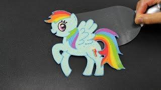 Pancake Art - Rainbow Dash (MLP - My Little Pony) by Tiger Tomato