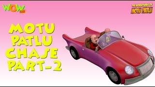 Chase - Motu Patlu - Part 2 - 45 Minutes of Fun!