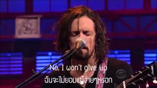 เพลง I won't give up   Jason Mraz ซับไทย อังกฤษ