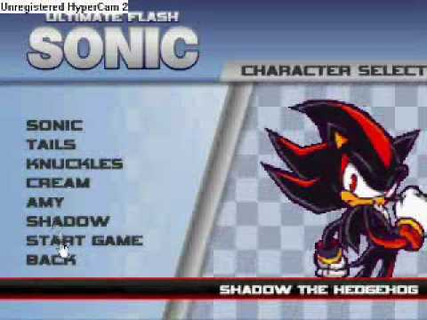 ultimate flash sonic cheatcode GET SHADOW & AMY