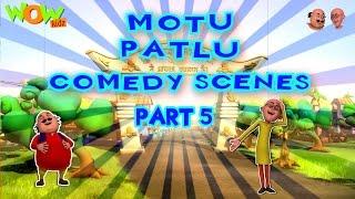 Motu Patlu Comedy Scenes - Compilation Part 5 - 45 Minutes of Fun!
