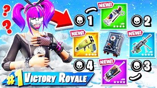 VAULTED ONLY Gun Game MINI GAME in Fortnite Battle Royale