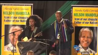 Zahara and Mbuli sing Madiba tribute song