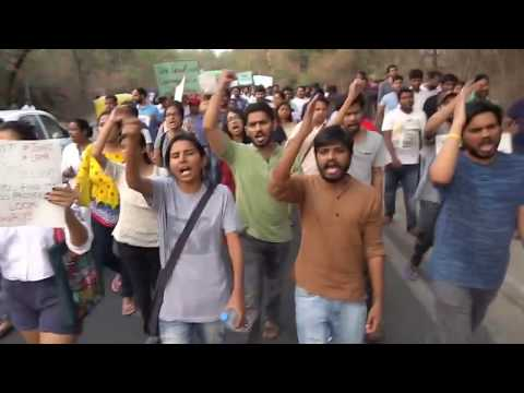 Xxx Mp4 Against Sexual Harassment SLS JNU Students March From Ganga Dhaba To Chandrabhaga Hostel 3gp Sex