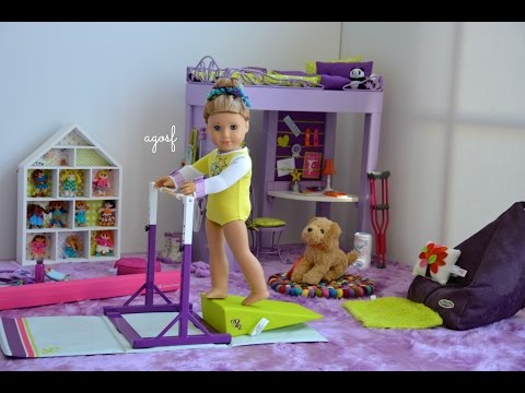 American Girl Doll McKenna s Bedroom Watch in HD