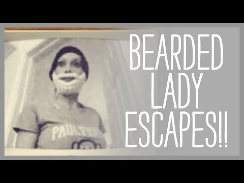 Bearded Lady Escapes!!