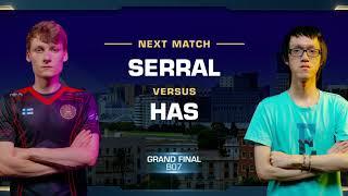 Serral vs Has ZvP - Grand Final - WCS Valencia 2018 - StarCraft II