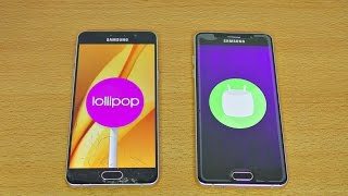 Samsung Galaxy A5 (2016) Android 6.0.1 vs 5.1.1 - Speed Test! (4K)