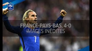 France-Pays-Bas (4-0) : images inédites