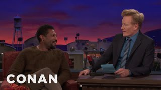 Deon Cole On The CONAN Staffers & Sketch That Convinced Him Not To Quit  - CONAN on TBS
