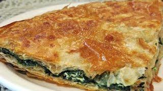 Albanian Cooking -Pita (Pite me presh)