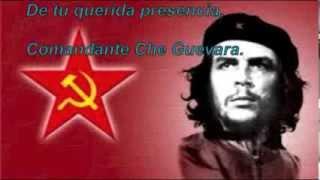 Natalie Cardone Hasta Siempre (Che Guevara) with lyrics