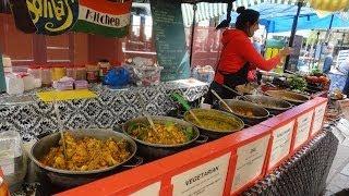 Sonita's Kitchen - A Healthy North Indian Punjabi Street Food Stall in Camden Lock Market, London.