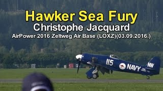 Hawker Sea Fury (Christophe Jacquard)-Zeltweg Air Base (LOXZ)(03.09.2016.)AirPower2016