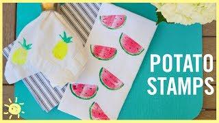 DIY | How to Make Potato Stamps