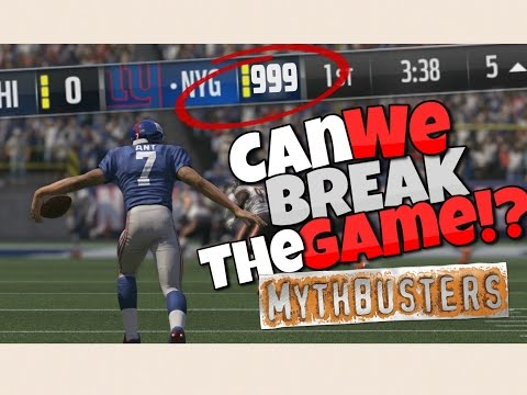 WHAT HAPPENS IF YOU EXCEED THE SCORE LIMIT IN MADDEN 17 Madden Mythbusters Ep.2