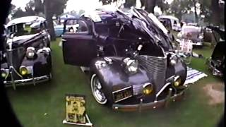 37,38 and 39 chevys at south gate lowrider show