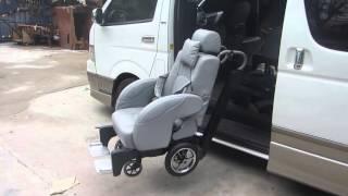 Toyota Hiace Handicapped Van 10 seats -  Alpha Auto Thailand