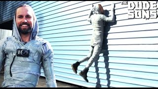 The Duct Tape Suit Challenge! - Will it Hold? - The Dudesons