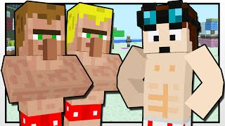 Minecraft | THE BEACH CONTESTS!! | Custom Mod Adventure