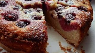 Cheesecake irmikli visneli / Azide Hobi