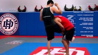 Dan Henderson MMA Techniques of the Week Single Leg Takedown Right vs Left Hand