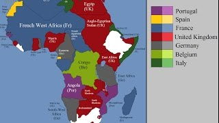 European colonization of Africa : Every Year