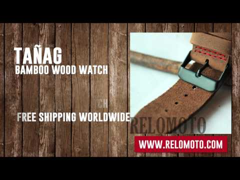 Xxx Mp4 Tañag Bamboo Wood Watch Promotional Video From Relomoto 3gp Sex