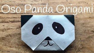 OSO PANDA de papel | ORIGAMI fácil para NIÑOS