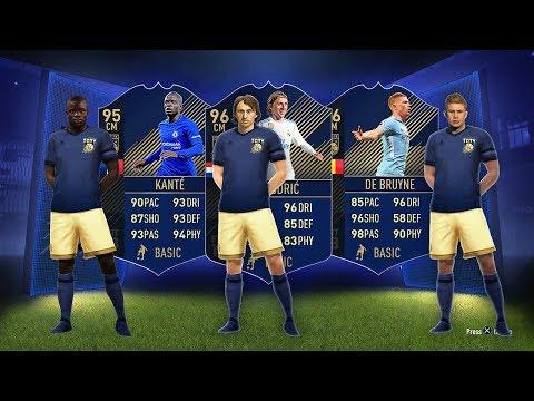 Xxx Mp4 96 TOTY DE BRUYNE 96 TOTY MODRIC 95 TOTY KANTE FIFA 18 Ultimate Team 3gp Sex