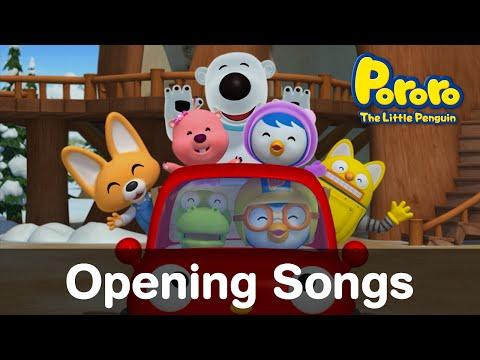 EN The Little Penguin Pororo S1 S5 Opening Songs