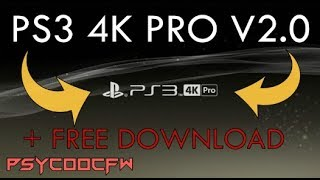 🔵PS3 4K PRO V2.0 + FREE DOWNLOAD