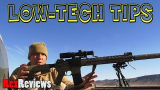 The One Cent Anemometer, LOW-TECH RIFLE TIPS ~ Rex Reviews