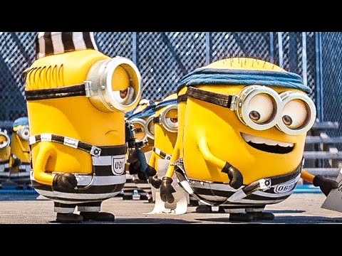 DESPICABLE ME 3 All Trailer + Movie Clips (2017) Minions