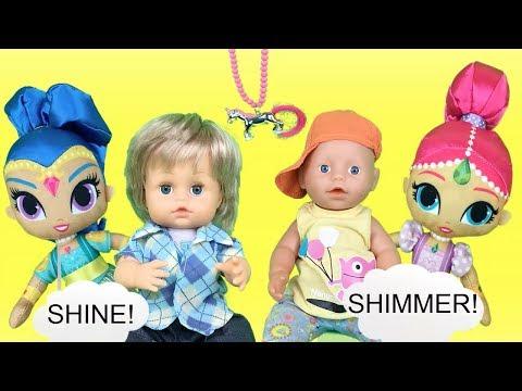 Xxx Mp4 Bebe Nenuco Lola Muñecas Shimmer Y Shine Convierten En Superheroes A Baby Born Y Cicciobello 3gp Sex