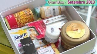 Edição Especial - Caixinha da GlamBox - Setembro 2013