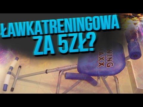 ŁAWKA TRENINGOWA za 5zł?!