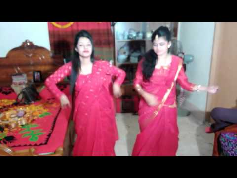 new dance my sisterssss sonia rahman shorna and antora . .  its awsome.