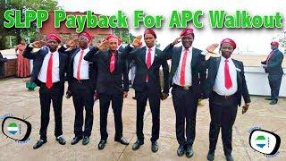 SLPP Payback For APC Walkout - Sierra Leone Parliament - Sierra Network