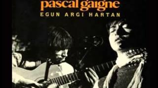 Xoxo Beltz Bat - Amaia Zubiria & Pascal Gaigne (Egun Argi Hartan, 1985)