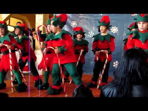 Bailable de navidad 2011